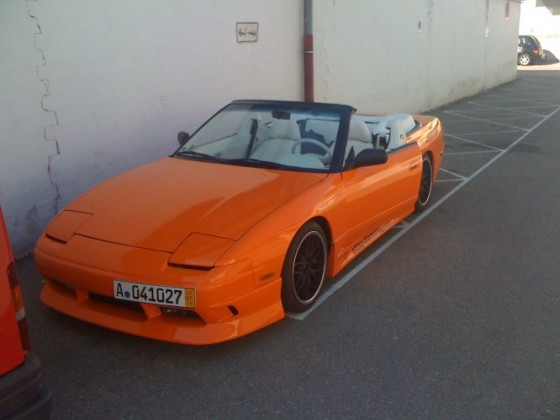 240 SX Topless
