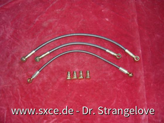 SR20det Stahlflex Turboleitungen (ohne Ölschrauben)